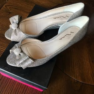Glitter Flats with bow detail!!!! ✨✨